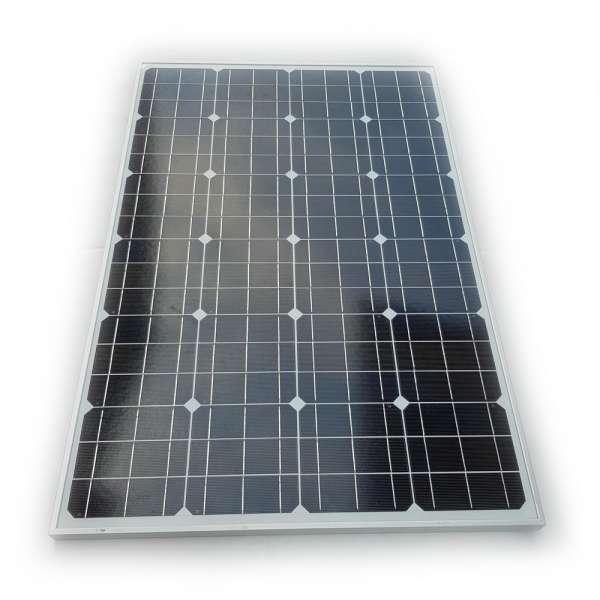 12V 100W Solarmodul monokristallin