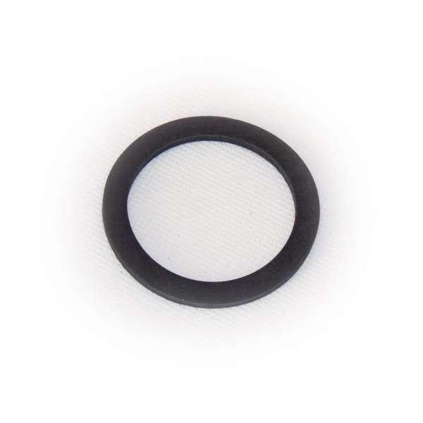 Dichtung 57x44x3 mm Abmessung aus Gummi als Ring flach für G 2 Zoll Innengewinde