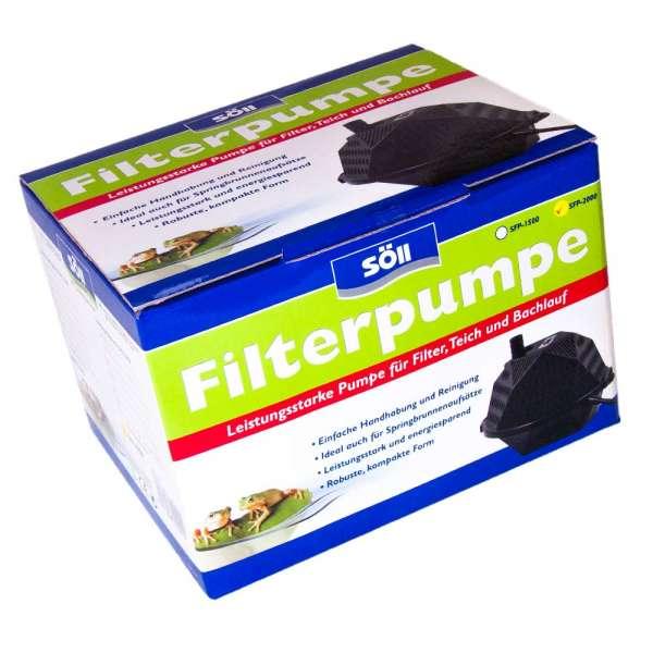 Pumpe Söll SFP 2000 für Filter