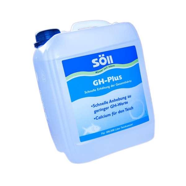Erhöhen Sie die Gesamthärte mit 5l Söll GH-Plus bis 100000l Wasser