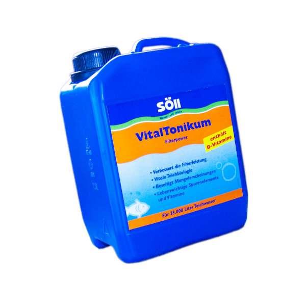 Mittel zur Verbesserung der Filterleistung bis 25000l Teichwasser