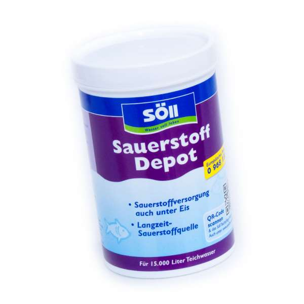 Söll Sauerstoff Tabletten für 15000l Koiteiche