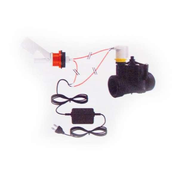 Set Compact P520 zur Wasserstand Niveauregulierung im Teich, Wassertank, Aquarium und Regentonne