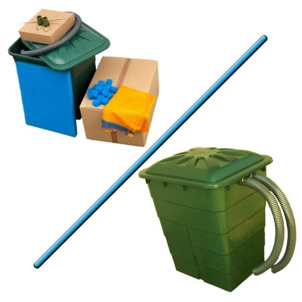 Filter bis 5000 Liter für Teiche