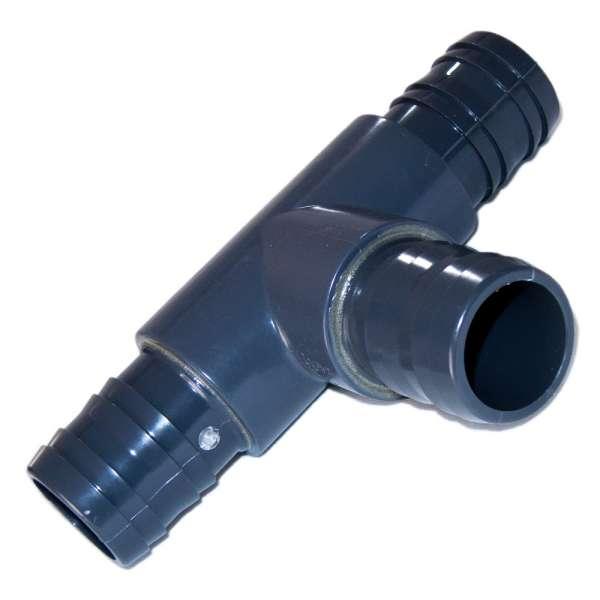 T-Stück 50 mm aus PVC-U für Teiche