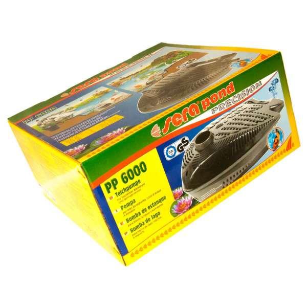 Die Sera Pond PP 6000 für Teichfilter als Pumpe
