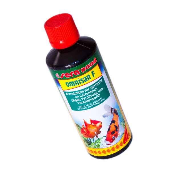 Sera Pond Omnisan F 500ml gegen Verpilzungen und Fischkrankheiten