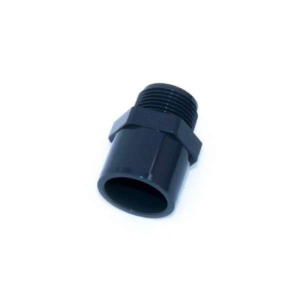 """G 3/4"""" Gewindestück 25 x 32 mm aus PVC-U"""