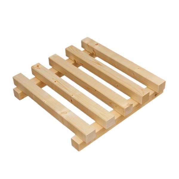 1 Holzpodest als Unterbau für Gartenteichfilter