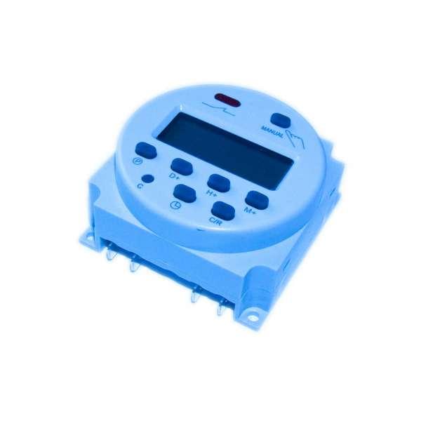 Zeitschaltuhr 16A 12V DC für Solaranlagen