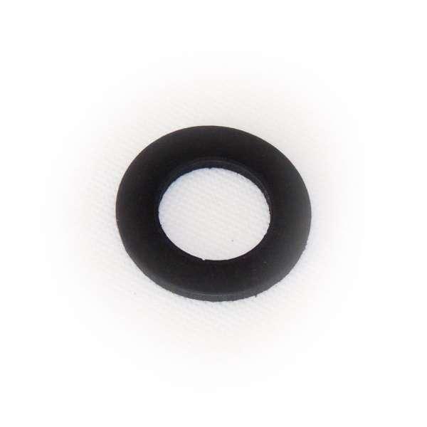 Flachdichtung 43 x 24 x 3 mm aus EPDM Gummi als Ring