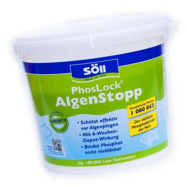 Söll PhosLock AlgenStopp 5kg für 100000l Teiche gegen Fadenalgen