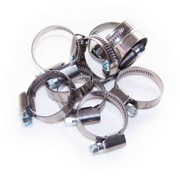20-32mm Spiralschlauchschellen im 10 Stück Set W2 Deutsch