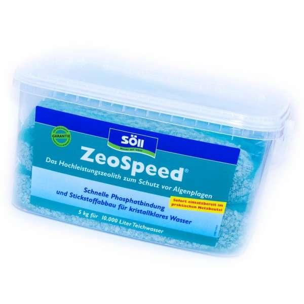 Söll ZeoSpeed Zeolith 5 kg für Teiche bis 10000l Wasser