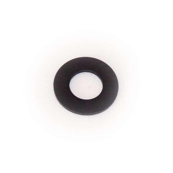 Flachdichtung 37 x 19 x 2 mm aus EPDM Gummi als Ring