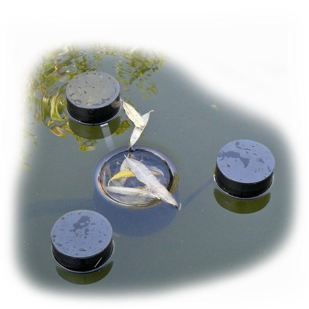 Schwimmskimmer korb f r teich zum selber bauen for Eckiger teich selber bauen