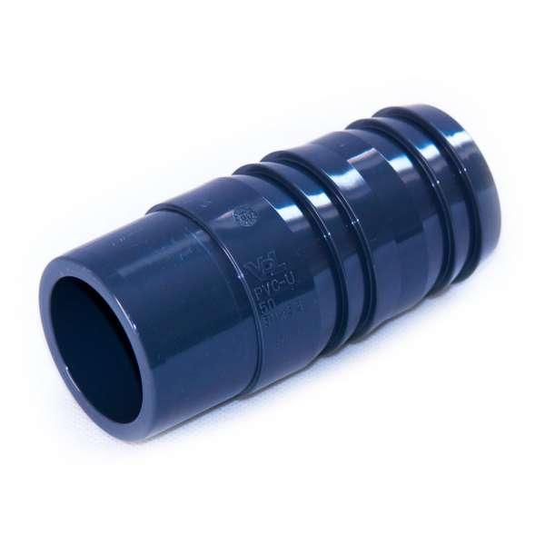 50 mm Klebeschlauchtülle VDL aus PVC-U