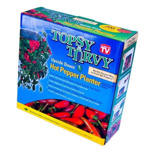 Pflanzenampel für hängende Chilis