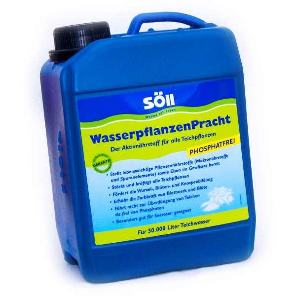 Söll Teichpflanzen Dünger 5l bis 50000l Wasser