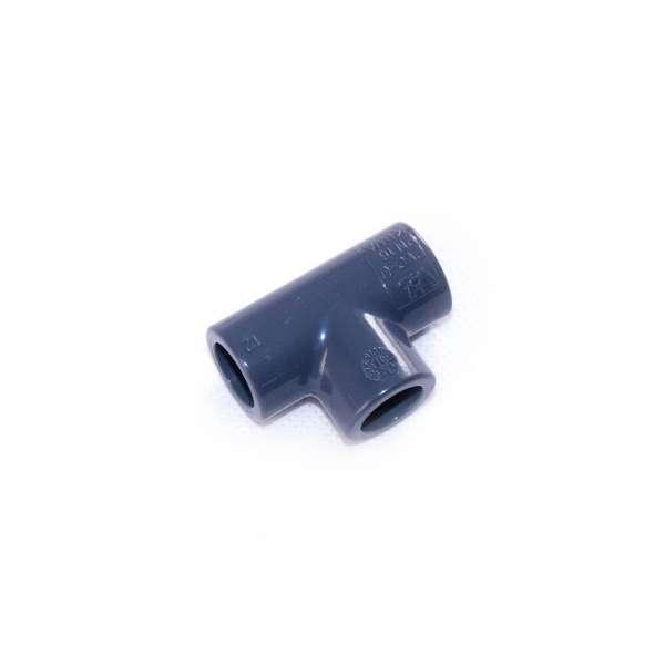 12mm T-Verbinder von VDL aus PVC-U als T-Stück