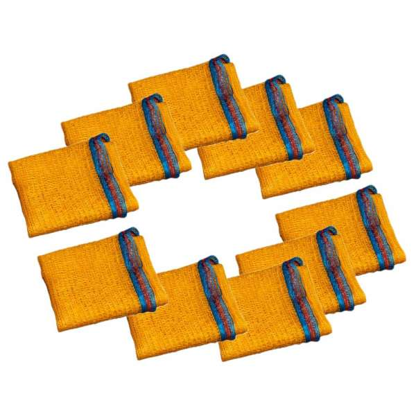 10 Stück Kunststoffsäcke für Filtermaterial