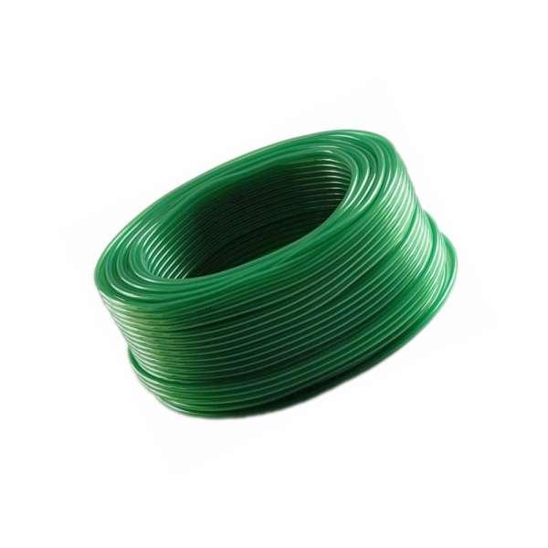 4mm Aquaristikschlauch in grün für Aquarium und Teichbelüfter