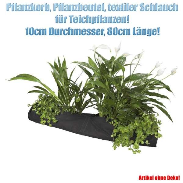 Pflanzkorb länglich 10 x 80 cm für Teichpflanzen