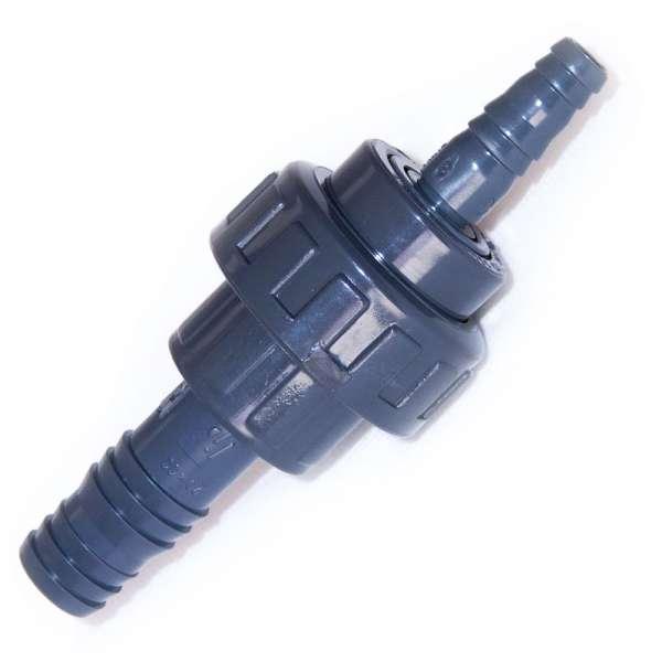 12,5 mit 20 mm Gewindeschlauchverbinder PVC für Teich und Garten