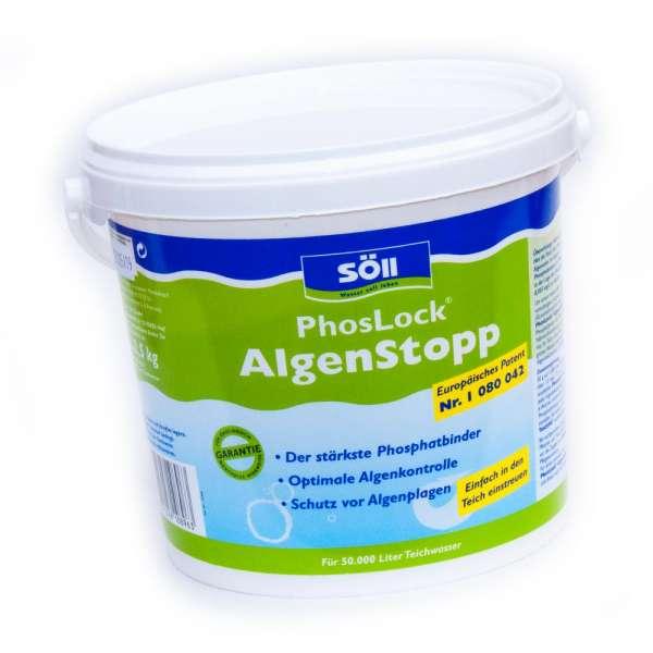 2,5 kg Söll PhosLock Phosphatbindemittel für 50000l Teiche