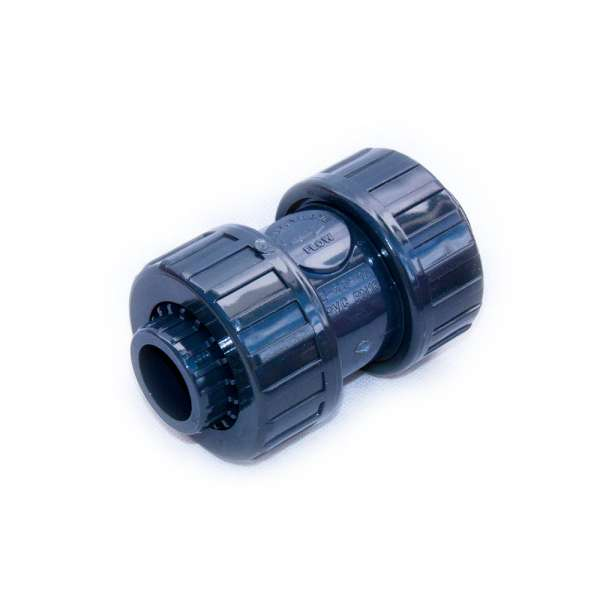 Rückschlagventil PVC 25 mm mit Muffen zum Verkleben