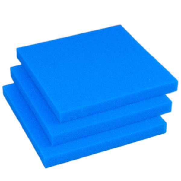 Feine Filtermatten 50x50x5 cm im 3er Pack