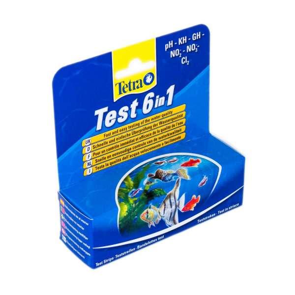 Tetra 6in1 Teststreifen für Teichwasser