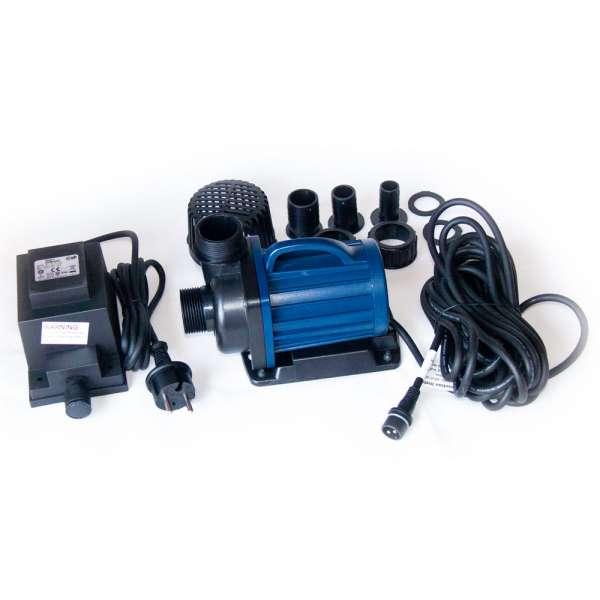 Teichpumpe 12V Eco DM 10000 LV für IBC Teichfilter am Schwimmteich
