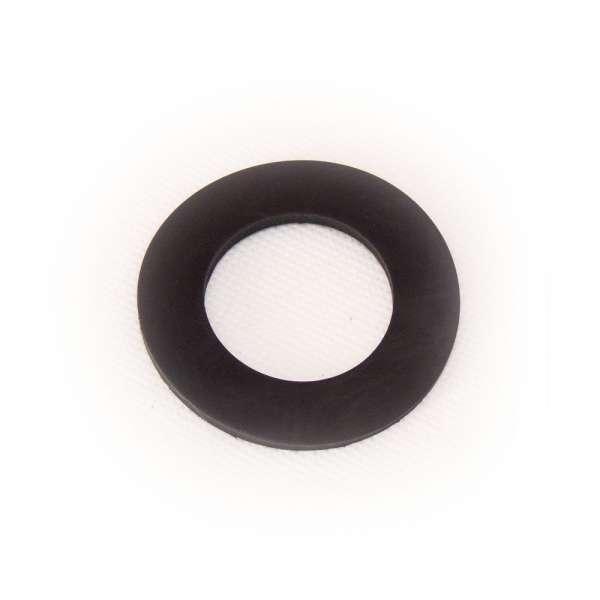 Flachdichtung 55 x 32 x 3 mm aus EPDM Gummi als Ring