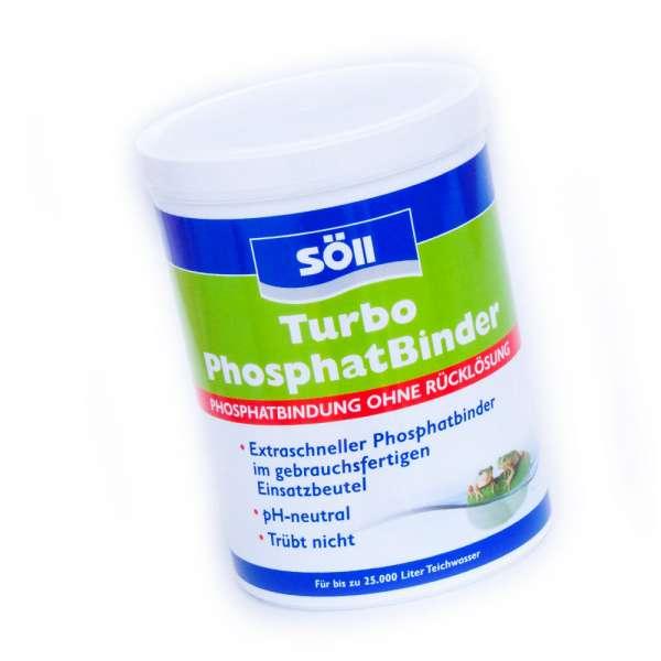 Söll Turbo Phosphat Binder 600g für Teiche bis 25000l Wasser
