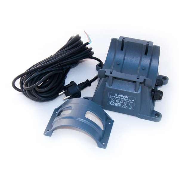 Sera Pond Lampensockel mit 10m Kabel und Spannring für 24W UVC Klärer 08241