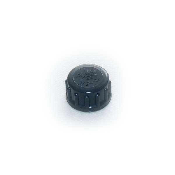 Verschlussdeckel mit G 1/2 Zoll Innengewinde von VDL mit Dichtung aus Gummi