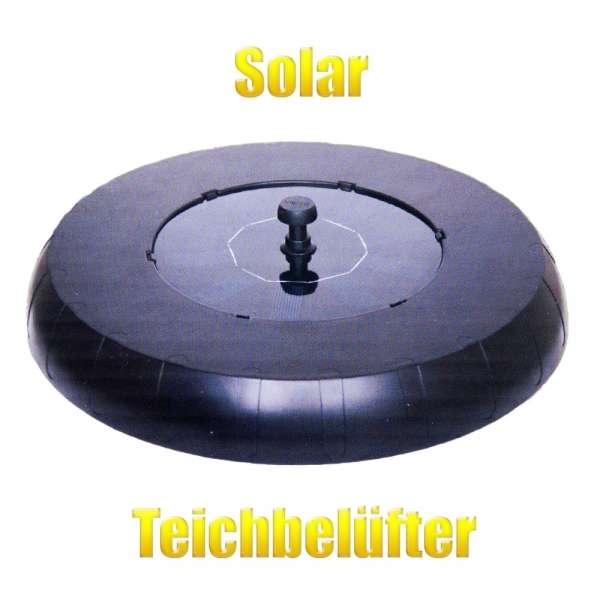 Teichbelüfter schwimmend mit Solar