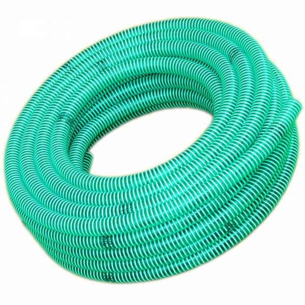 Spiralschlauch grün 50mm auf 25m Rolle