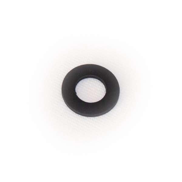 Flachdichtung 29 x 15 x 2,5 mm aus EPDM Gummi als Ring