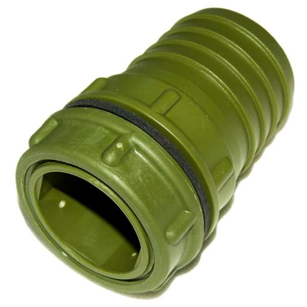 Anschluss 50 mm grün für Filter