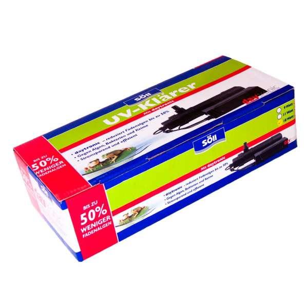 18 Watt UV Klärer von Söll für Teiche