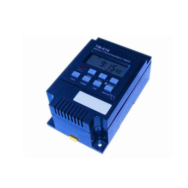 Digitale Zeitschaltuhr 12V DC 30A Mod. TM 616
