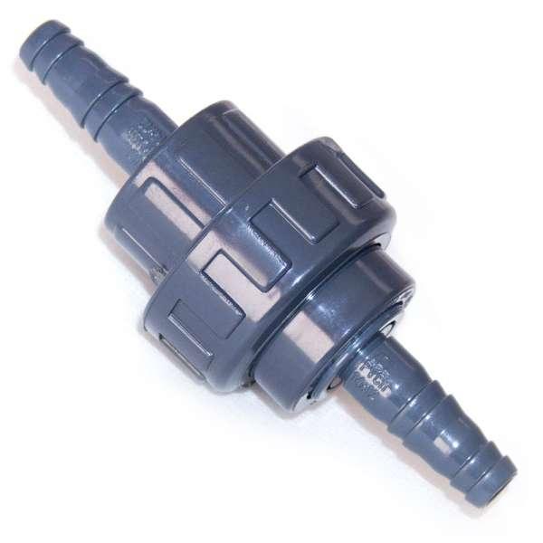 Verbinder für Schlauch mit Gewinde 12,5 mm