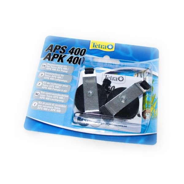 Ersatzteile Set mit Gummimembranen für den Tetra Pond Teichbelüfter APK 400 als Luftpumpe für Teiche