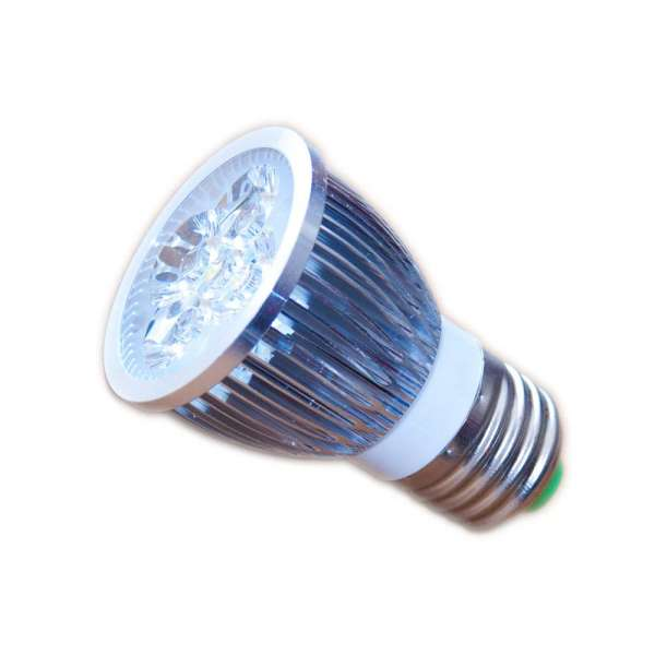 LED Strahler 5 Watt 12V E27 warmweiss