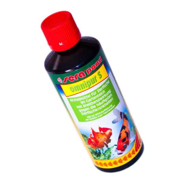 Medikament für Teichfische Sera Pond Omnipur S