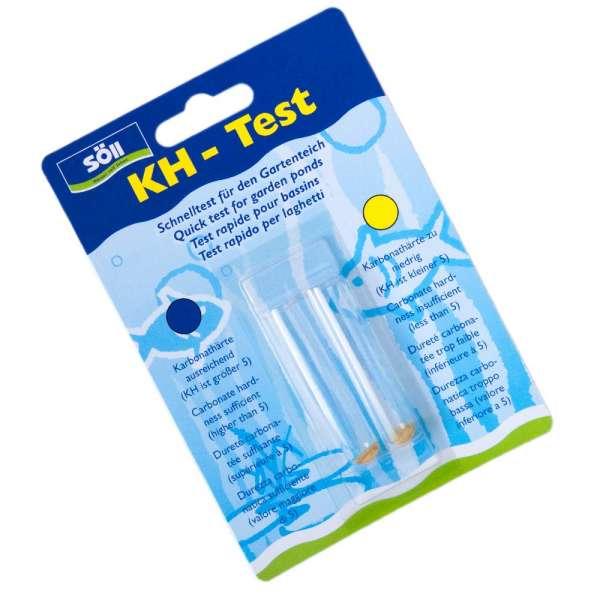 KH-Test von Söll für Teichwasser