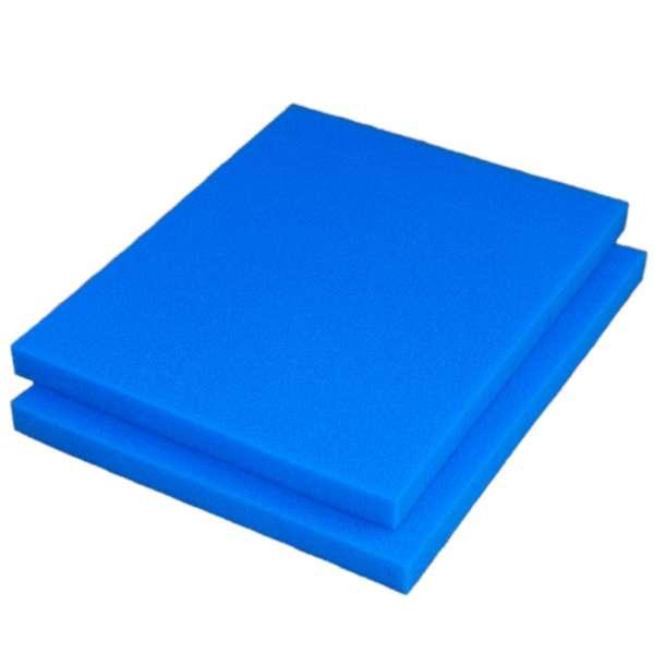 2 Filtermatten fein 75x60x5 cm für Regentonnen