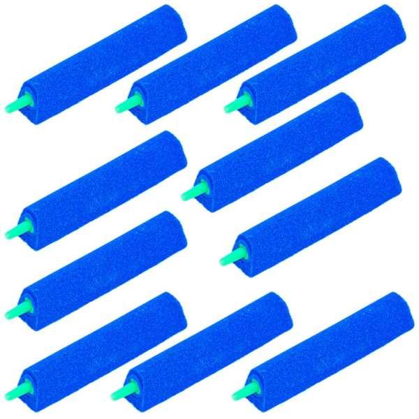 10 Stück Sprudelsteine 4mm extra lang für Luftpumpen im Teich und Aquarium